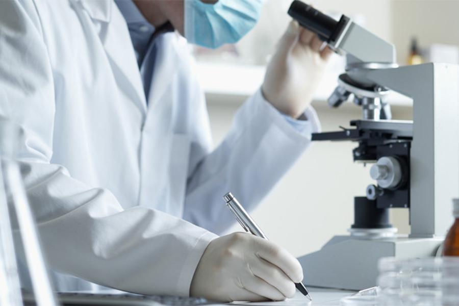 микроскопия в лаборатории